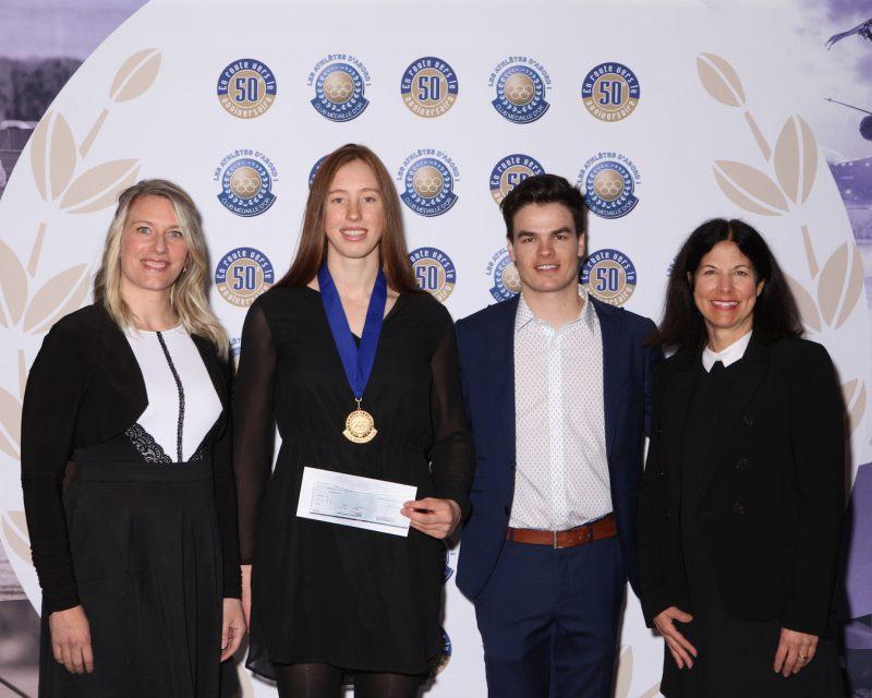Marilou Duvernay-Tardif récompensée par le Club de la médaille d'or