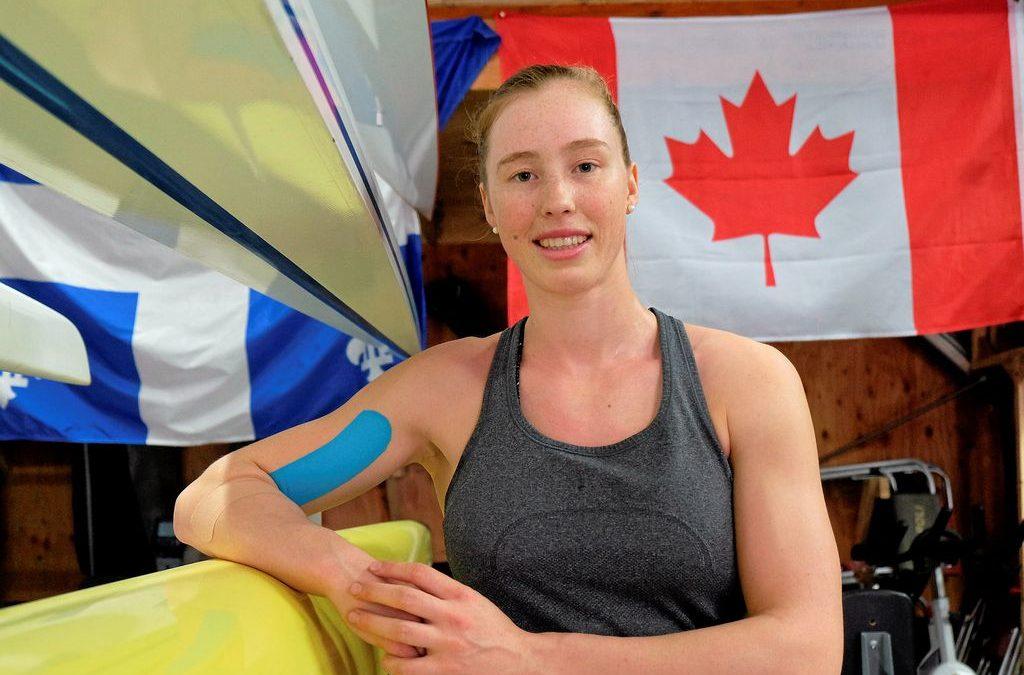 Marilou Duvernay-Tardif se joint à l'équipe canadienne d'aviron