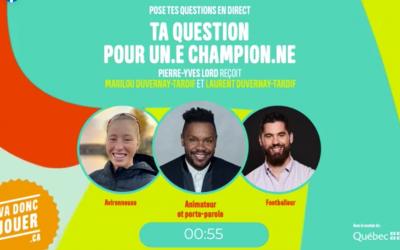 Podcast – Ta question pour un.e champion.ne !